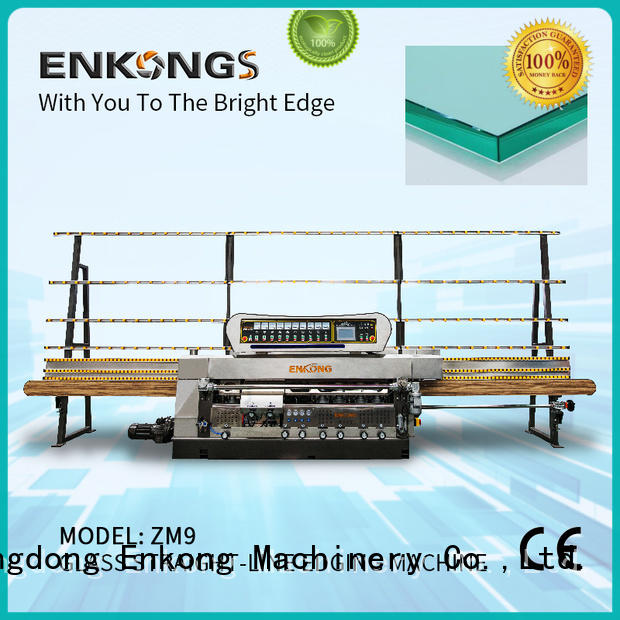 Enkong top quality glass edge grinding machine series for polishing