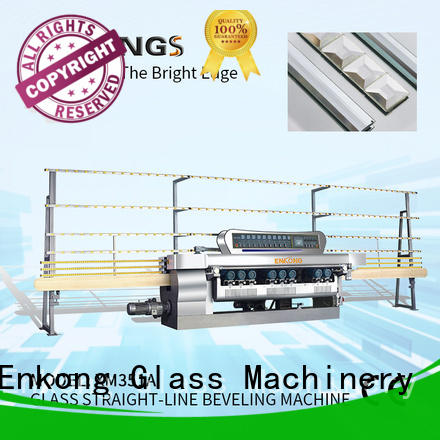 Enkong efficient glass beveling equipment xm351a for polishing