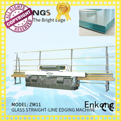 Enkong top quality glass edge grinding machine customized for polishing