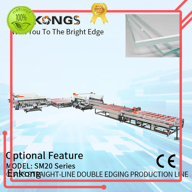 Enkong quality double edger factory direct supply for photovoltaic panel processing