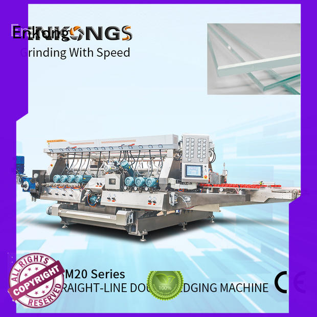 Enkong SM 10 double edger machine supplier for round edge processing