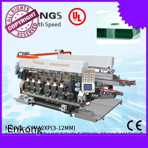 quality glass double edging machine SM 20 factory direct supply for round edge processing