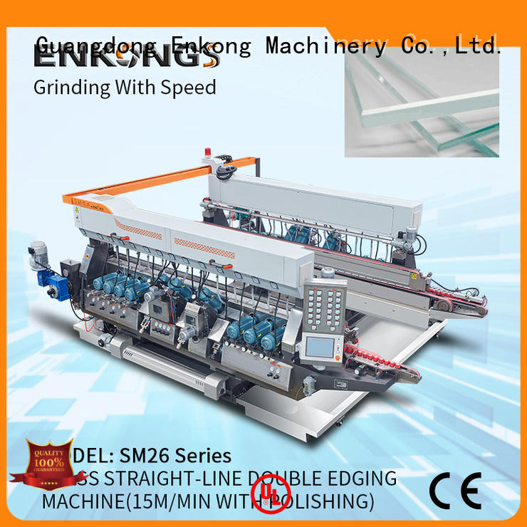 real glass double edging machinestraight-lineseries for photovoltaic panel processing