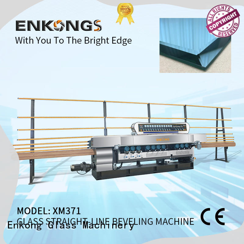 Enkong cost-effective glass beveling machine factory direct supply for polishing