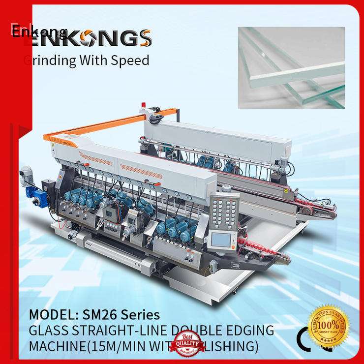Enkong quality double edger machine manufacturer for photovoltaic panel processing