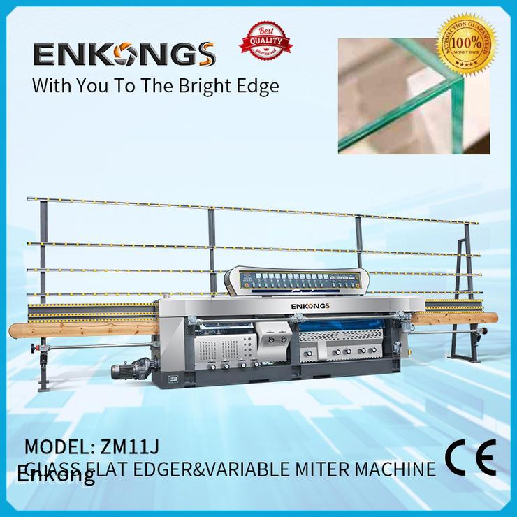 Enkong 60 degree glass mitering machine wholesale for polish