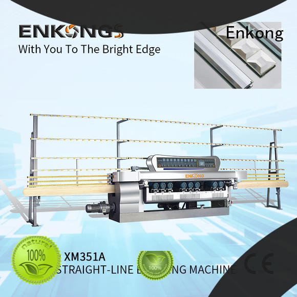 Enkong good price glass beveling machine for sale series